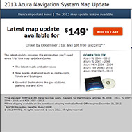 Acura Landing Page